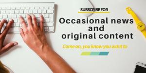 Ocasional news and original content